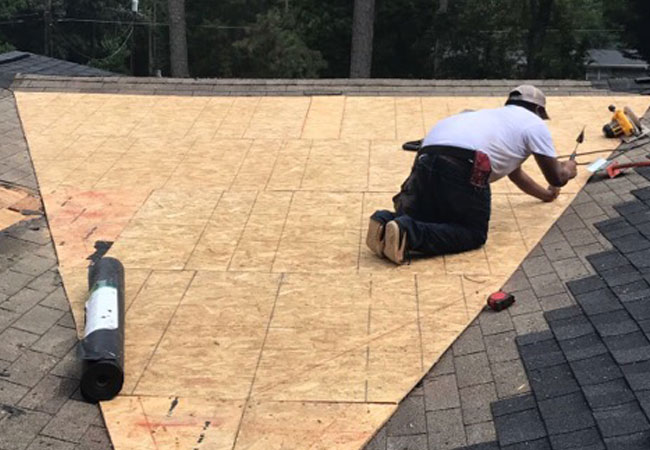 Roof Replacement at AAA Roofing & Siding in Jamestown, NC